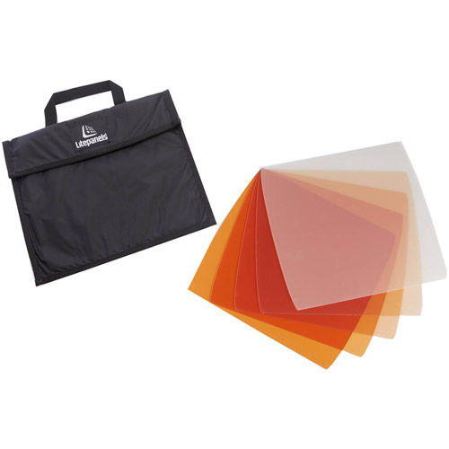 Astra 1x1 CTO Gel Set (5 Piece) Includes Carry Bag