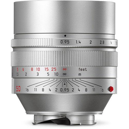 50mm f/0.95 ASPH Noctilux-M Silver Lens (E60)