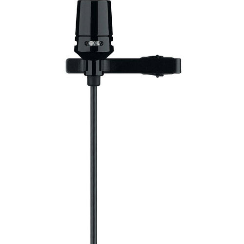 CVL-B/C-TQG Cardioid Lavalier Mic w/ TA4F Connector Includes Windscreen and Tie-clip