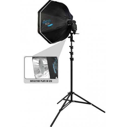 Rapid Box Octa Kit With Beauty Dish Deflector Plate
