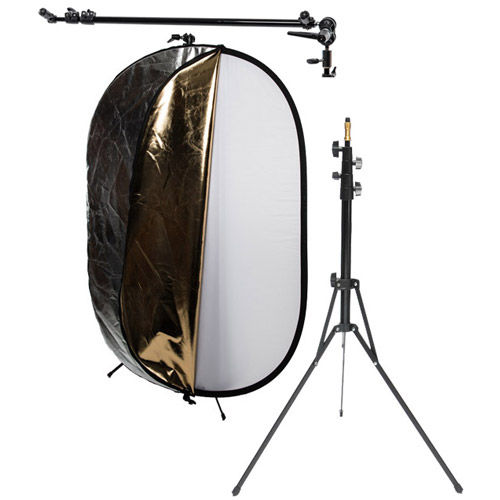 Oval reflector