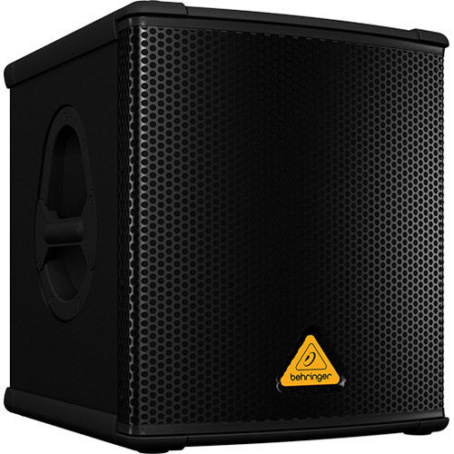 """B1200D-PRO Active 500W 12"""" PA Subwoofer w/ Built-In Stereo Crossover"""