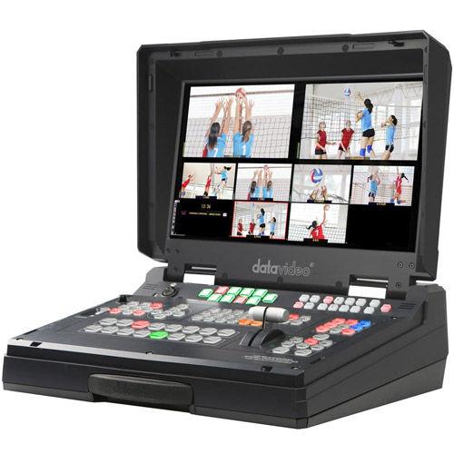 HS-2200 HD/SDI Mobile Studio w/SE-2000 Switcher, Monitor, Intercom & Case