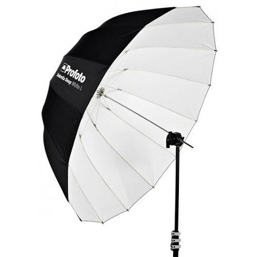 White Umbrella Deep Large (130cm)