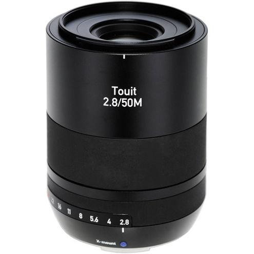 Touit 50mm f/2.8 Makro Lens for Fuji X-Mount