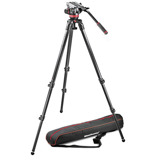MVK502C-1 Kit Includes 535 Tripod, MVH502A Video Head, and Padded Bag