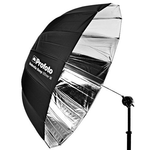 Silver Umbrella Deep Medium (105cm)
