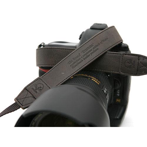 "EtsHaim Leather Strap ""Vintage-30"" - Black"