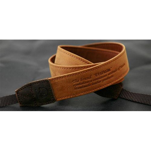 "EtsHaim Leather Strap ""Vintage-30"" - Tan"