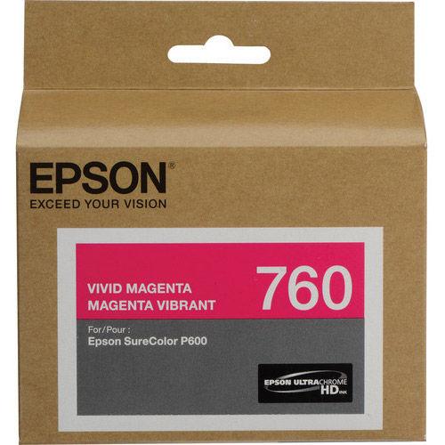 T760320 Vivid Magenta Ultrachrome HD for P600 P600