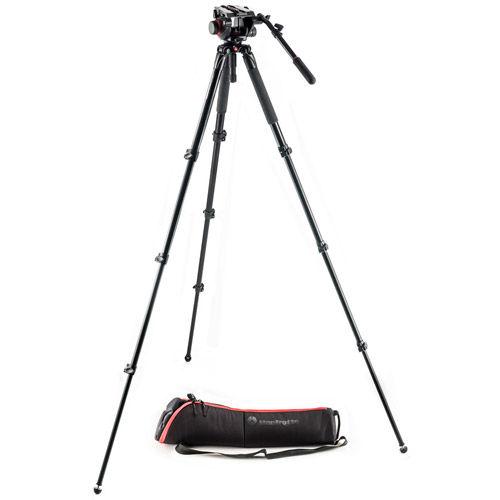 MVK504AQ Kit with 504HD Video Head, MVT535AQ Tripod, and Case
