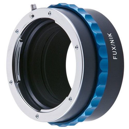 Lens Adapter Fuji X-Mount Camera to Nikon F Lens