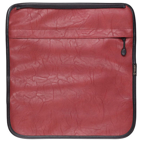 Switch Cover 10 Brick Red Faux Leather