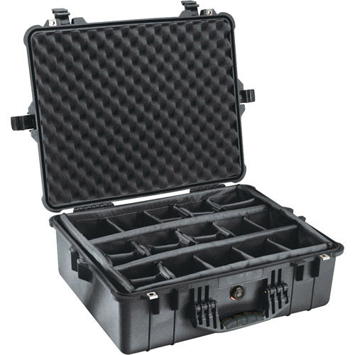 1604 Blk Case w/dividers