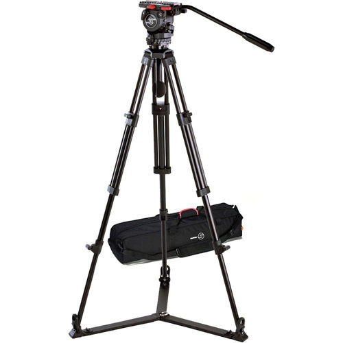 System FSB 8 / 2 D with FSB 8 Head, ENG 75/2 Aluminum Tripod, Ground Spreader and Case