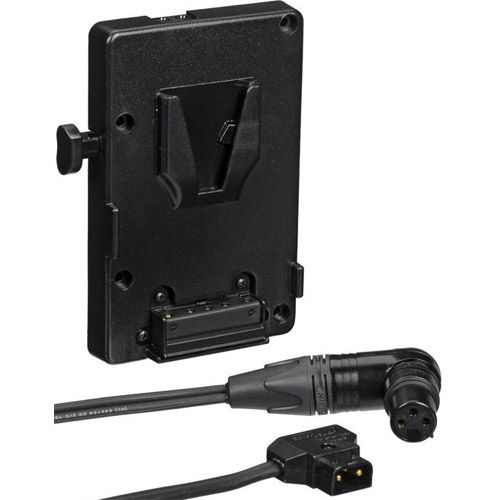 V-Mount Battery Bracket For Astra 1x1 With P-Tap to  3-Pin XLR Cable