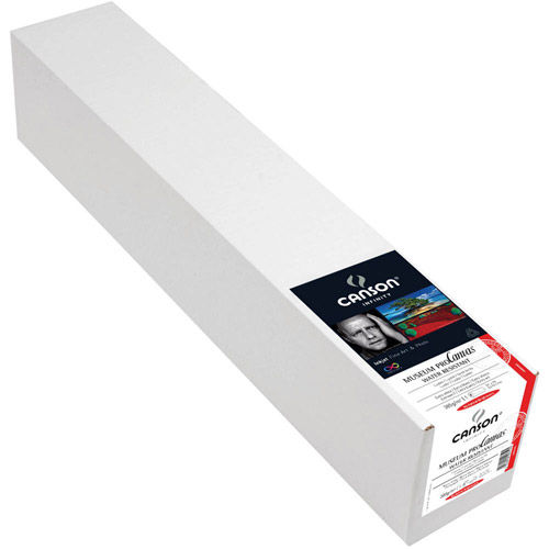 """44"""" x 40' Infinity Museum ProCanvas Luster - 385 gsm - Roll"""