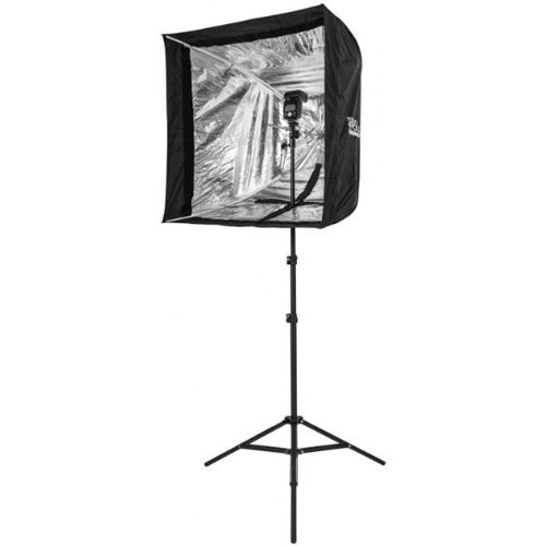 """28"""" Apollo Flash Kit with 8 Light Stand and Mount Bracket Bundle - QTY"""