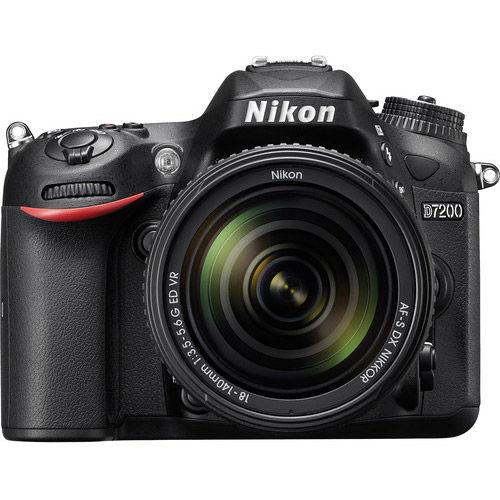 D7200 Kit w/ AF-S DX NIKKOR 18-140mm VR Lens