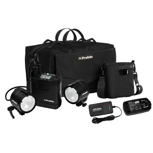 B2 250 AirTTL Location Kit 1xB2 250 Pack, 2xB2 Head, 2X Battery