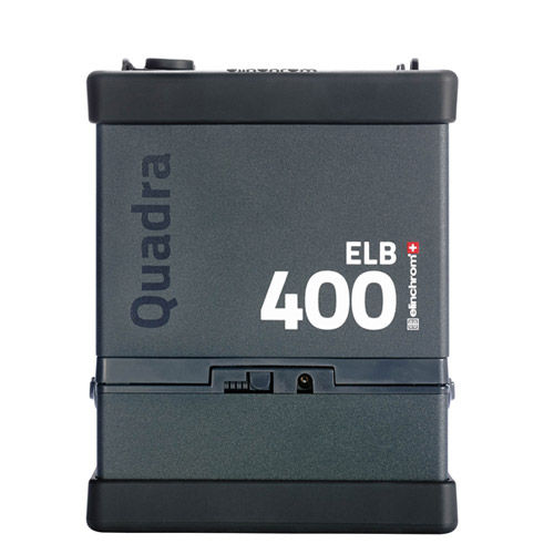 Quadra ELB 400 Power Supply with Lithium-Ion Battery, Charger, Sync Cord, Strap