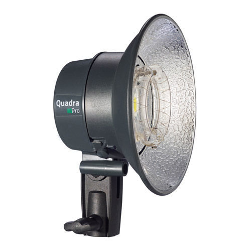 Quadra Pro Head with 2.5 m Flash Cable, 13.5 cm Reflector and Multifunction Cap