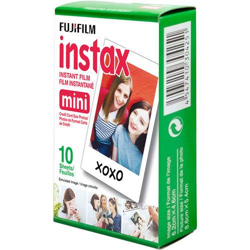 Instax Colour Instant Film Mini 10 Exposures