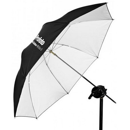 "Umbrella Shallow White S (85cm/33"")"