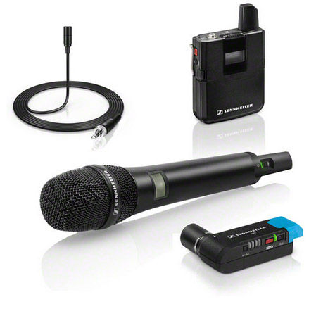 AVX-COMBO SET-4-US AVX Digital Wireless Combo Lav and Handheld System