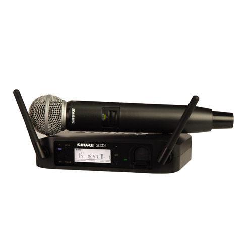GLXD24/SM58 Handheld Wireless System