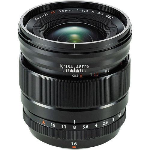 Fujinon XF 16mm f/1.4 R WR Lens