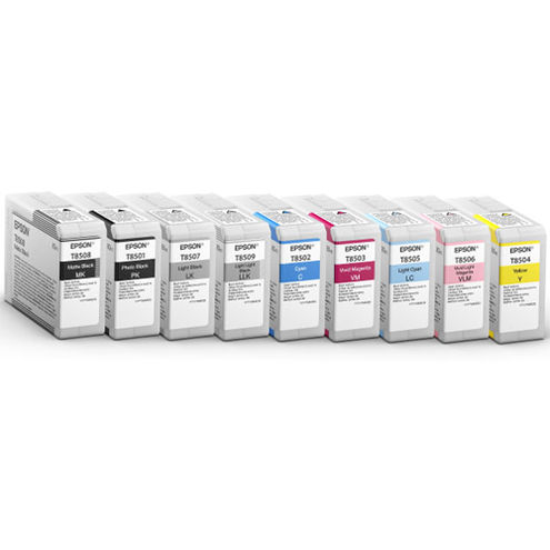 SureColor P800 Color Ink Set - 9 Cartridges