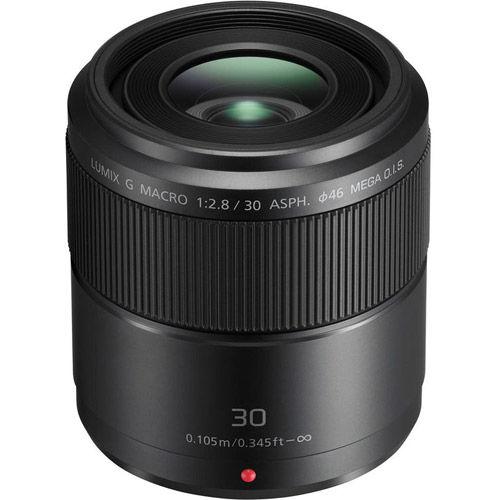 Lumix G 30mm f/2.8 ASPH Mega OIS Macro Lens