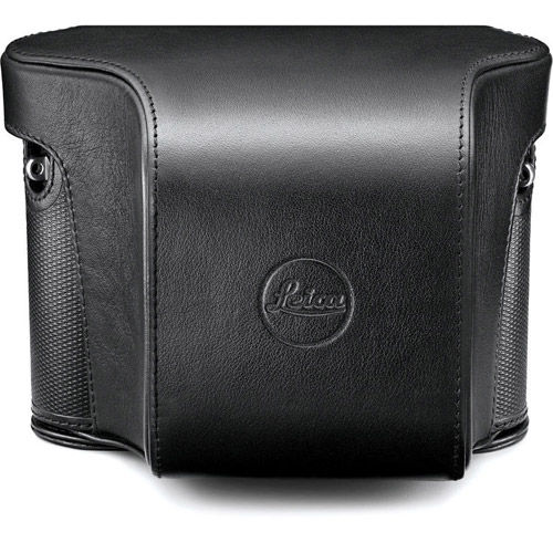 Q Typ 116 Ever Ready Case, Black Leather