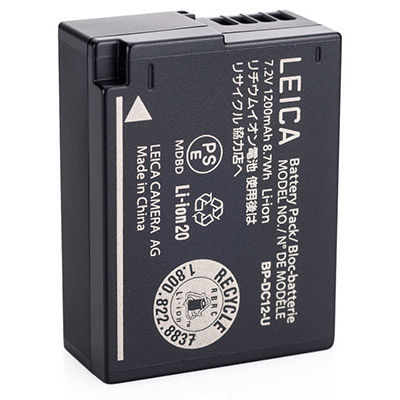 BP-DC 12 Lithium-Ion Battery, for Leica Q Typ 116