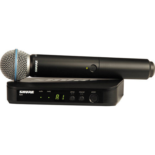 Handheld system w/ BLX2/B58 and BETA58A Supercardi oid Mic Freq. H8