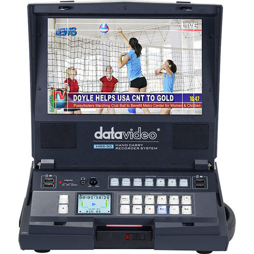 HRS-30 Hand carried HD/SD-SDI Recorder SSD required but not included
