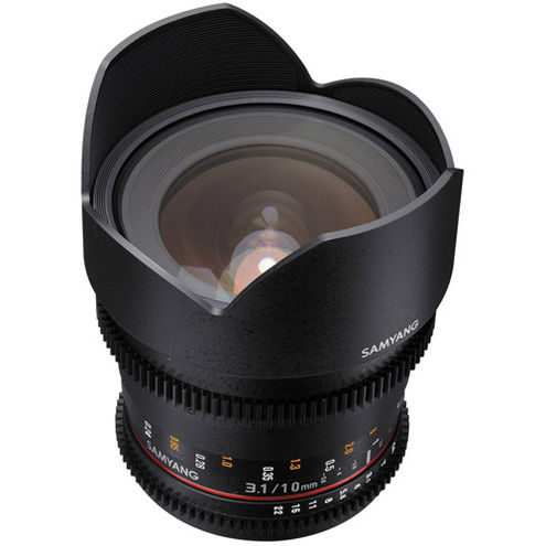 10mm T3.1 Cine Wide Angle Nikon Mount