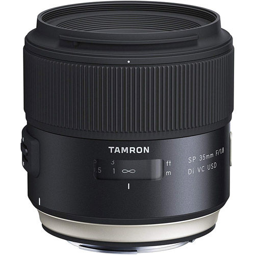 35mm f/1.8 Di SP VC USD Lens for Canon