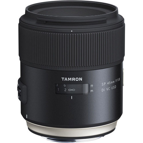 45mm f/1.8 Di SP VC USD Lens for Canon