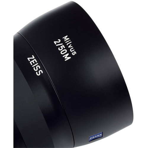 Lens Shade for Milvus 50mm f/2.0