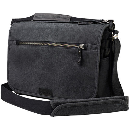 Cooper 13 Slim Messenger Bag - Grey
