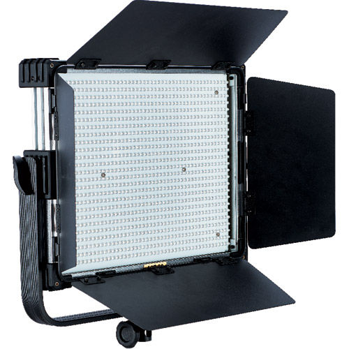 LG-1200MSII LED Light 5600K with V Mount, WiFi/DMX, DC Adapter, Filter Set and Case