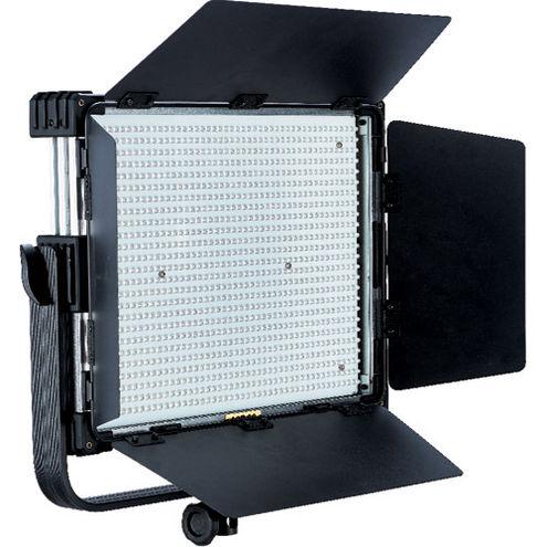 LG-1200MSII LED Light 5600K with V Mount, WiFi/DMX, DC Adapter, Filter Set and Case