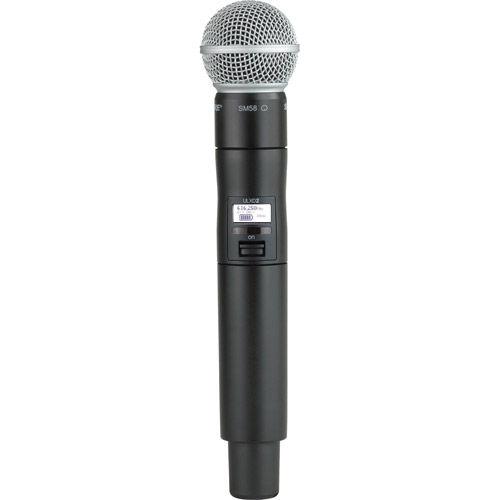 ULXD2/SM58-H50 Handheld Transmitter w/ SM58 Microphone