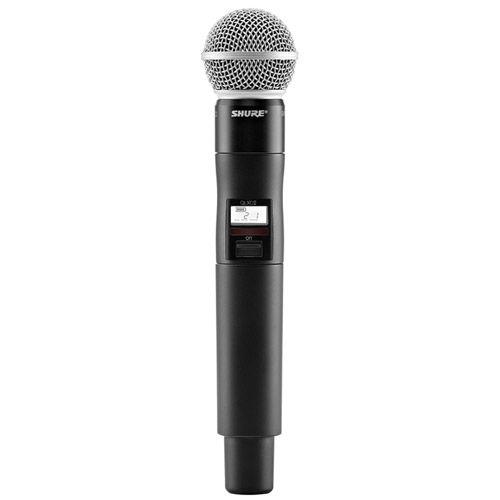 QLXD2/SM58-H50 Handheld Transmitter w/ SM58 Microphone