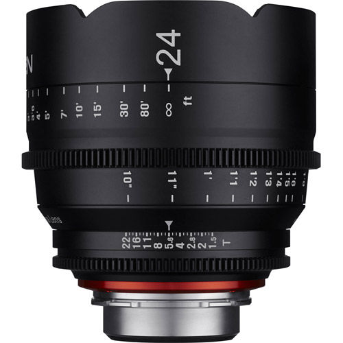 Xeen 24mm T1.5 Canon CINE mount