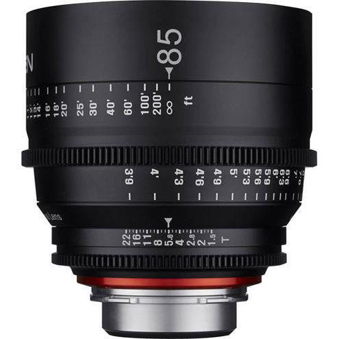 Xeen 85mm T1.5 Canon CINE mount