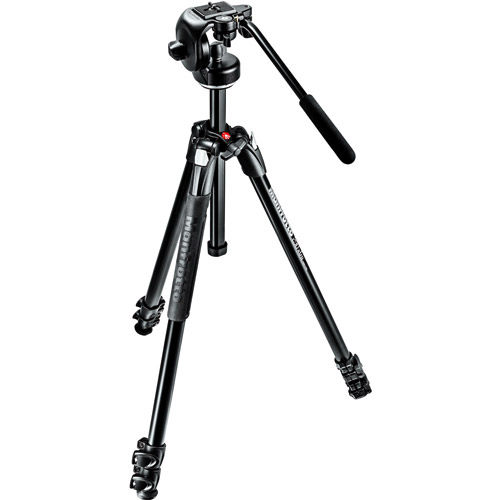 290 Extra Kit With MT290XTA3 Aluminum Tripod 3 Section And 128RC Head