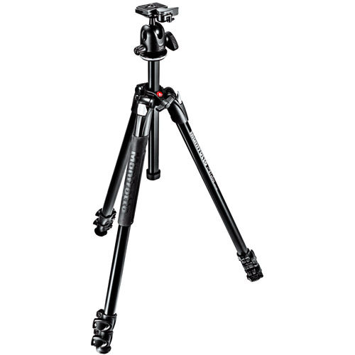 290 Extra Kit With MT290XTA3 Aluminum Tripod 3 Section And 496RC2 Ball Head